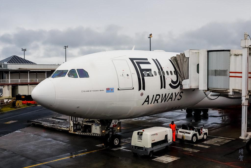 Fiji Airbus A330 Island of Yasawa-i-Rara