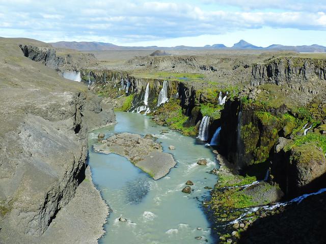Sigöldugljúfur, Highlands, Iceland