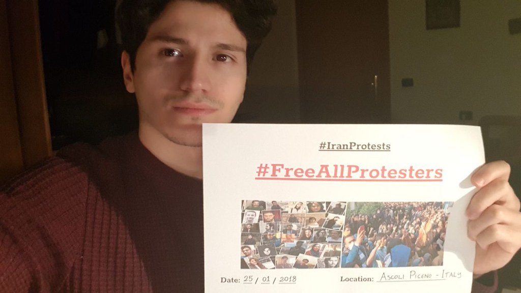 #FreeAllProtesters demanding immediate release of all demonstrators arrested during #IranProtests