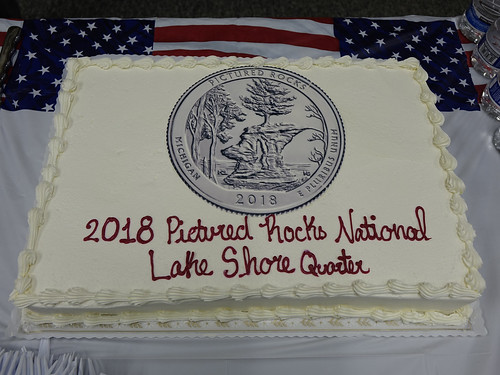 Pictured Rocks Quarter cake