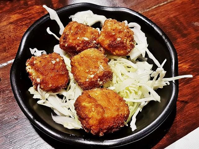 Age Hotate Ika / Deep-Fried Scallops & Squid