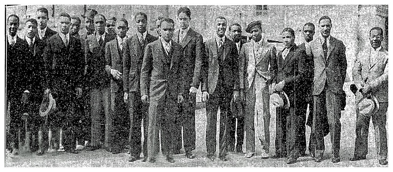 Howard students take direct action at the Capitol: 1934