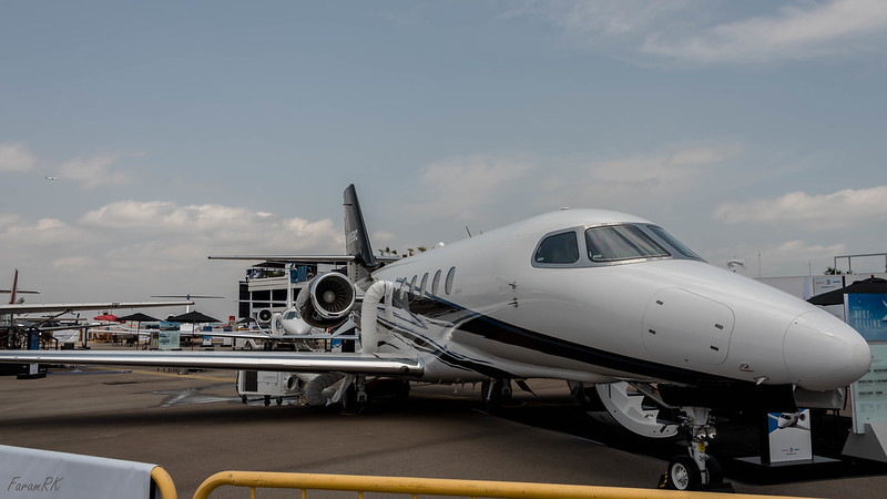 Cessna Citation Latitude (N985BC)