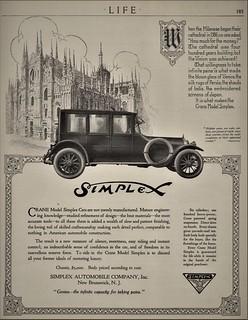 1916 Simplex Crane Model