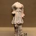 Etruscan ceramic female figure, from a vessel in ceramica argentata