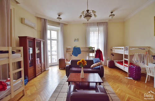 Friends Hostel Budapest Hungary (best hostel in Budapest) - 8-bed female dorm room