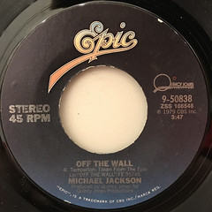 MICHAEL JACKSON:OFF THE WALL(LABEL SIDE-A)