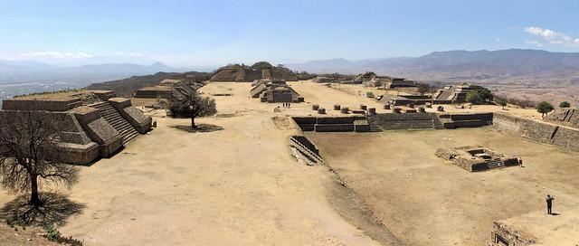 Monte Alban site