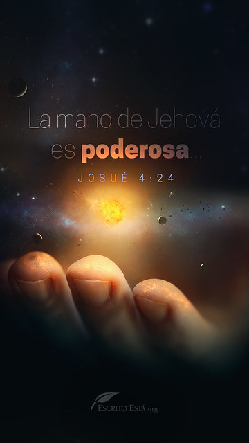 La mano de Dios es poderosa