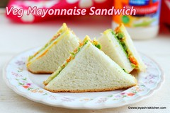 Mayonnaise- Sandwich recipe