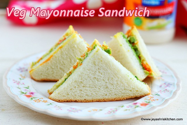 Mayonnaise- Sandwich recipe