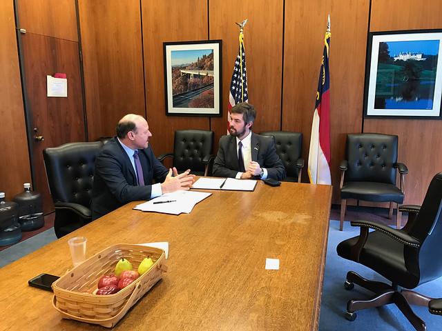 31.01.2018 Vizita vicepreședintelui Valetriu Ghilețchi în Carolina de Nord, SUA