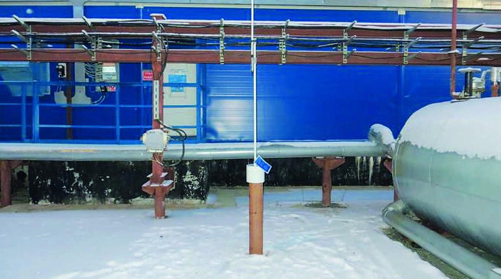 Рис. 12 - Дожимная компрессорная станция Юбилейного НГКМ