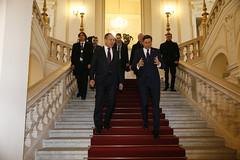 С.Лавров и Б.Пахор | Sergey Lavrov and Borut Pahor