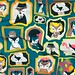 """My """"Cats wall of fame"""" were in the Spoonflower Center Stage Top 10! by Selma CC"""