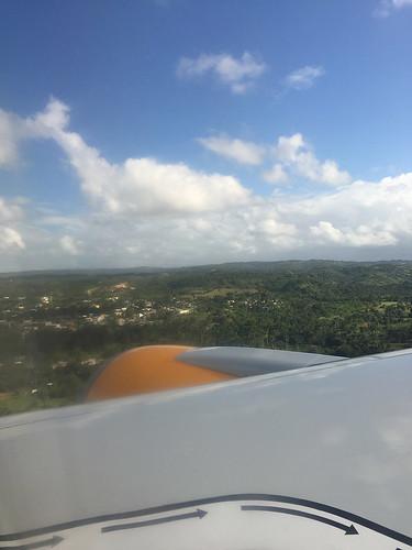 15 - Anflug auf Puerto Plata / Landing in Puerto Plata