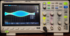 1 MHz modulated at 5 KHz