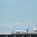 SFJ A320 and ANA B777 at the End of D-runway of Haneda Airport 4