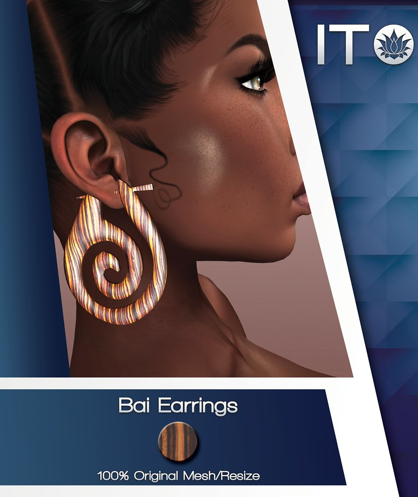 Ito: Bai Earrings - TeleportHub.com Live!