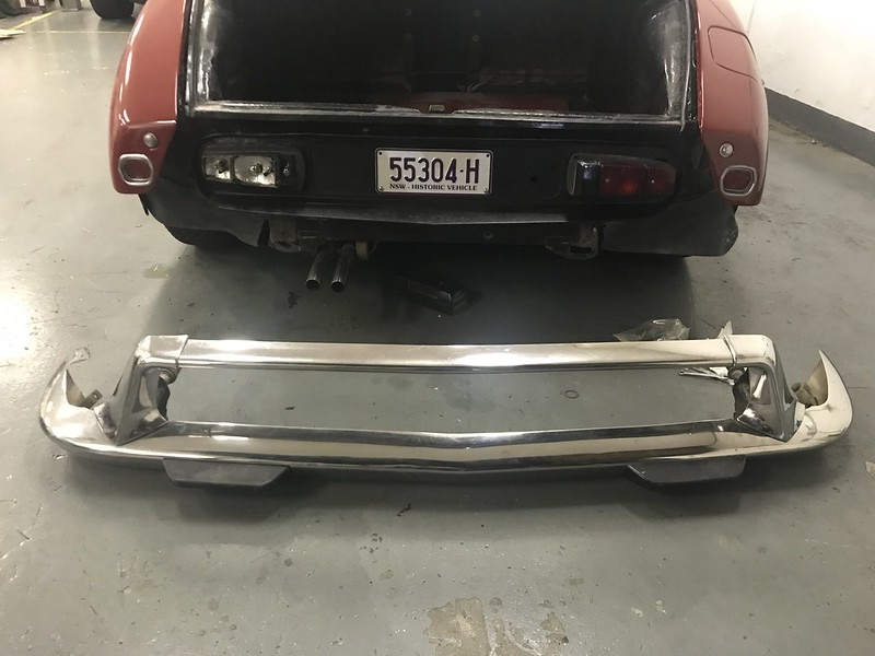DS rear bumper
