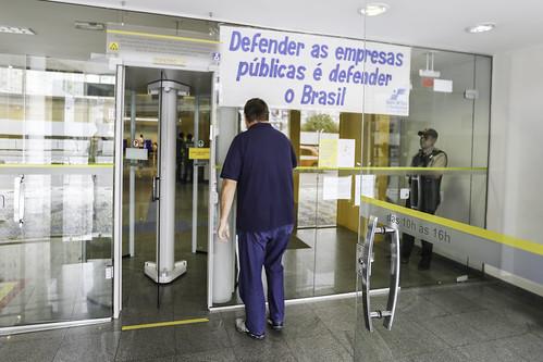 Ato em defesa do Banco do Brasil