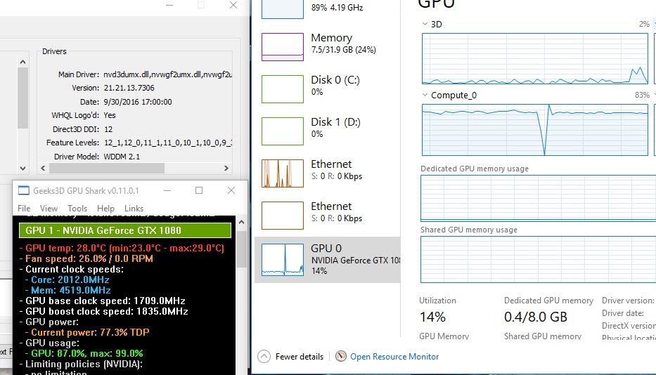 Shared Gpu Memory Usage 0