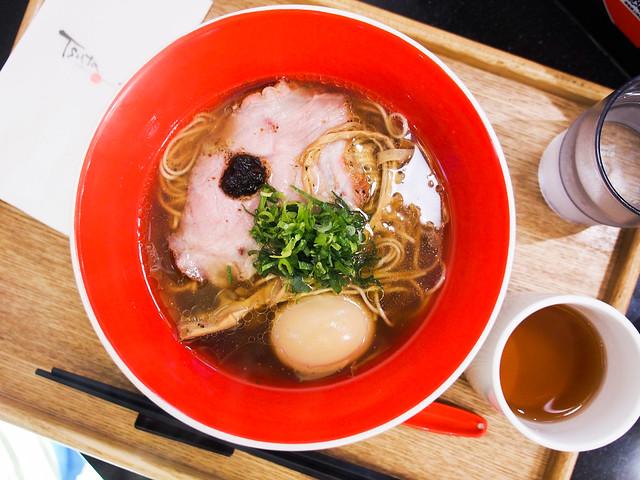 Tsuta蔦 拉麵 | 台北火車站–說是米其林一星日本拉麵