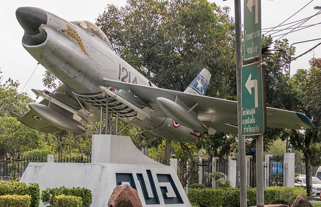 North American F-86L Sabre - Royal Thai Air Force 1214