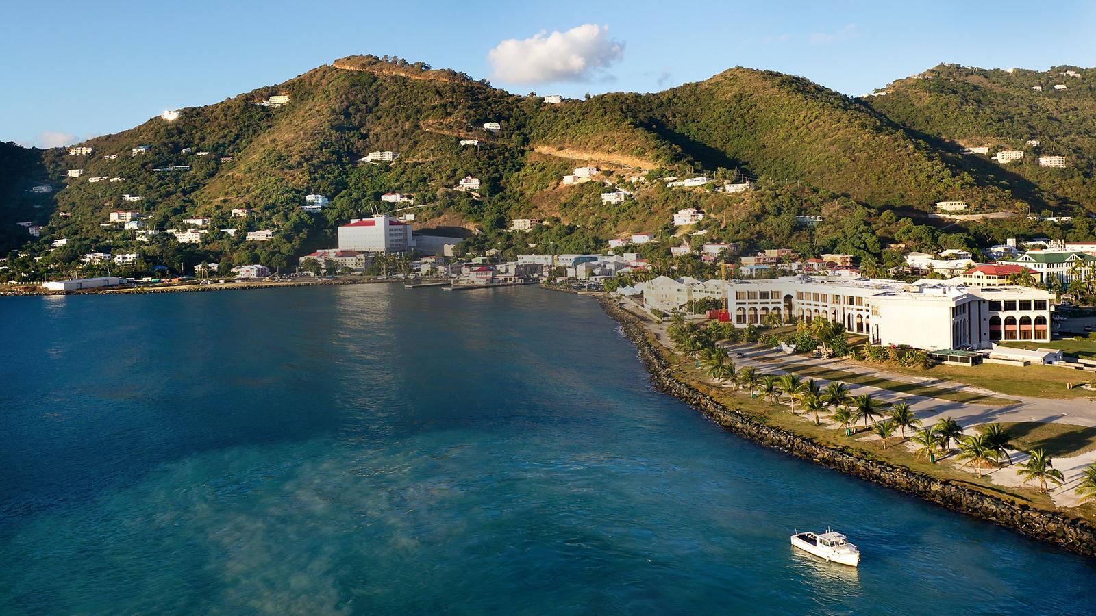 Tortola harbor, British Virgin Islands.