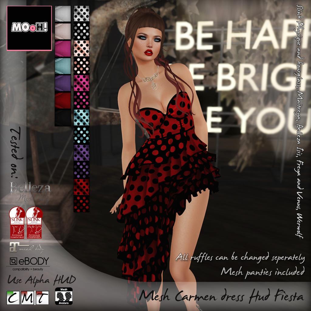 Carmen dress Hud Fiesta - TeleportHub.com Live!