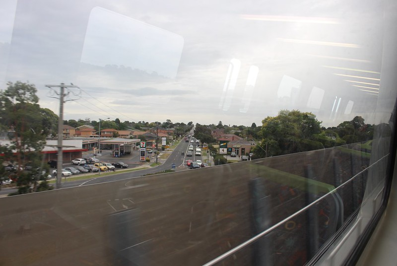 View over Heatherton Road, Noble Park