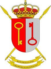 Escudo del Grupo de Inteligencia I/1