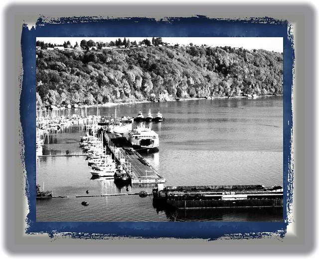 Three Tugs & a Ferry...