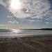 Low Winter Sun at Littlehampton Beach