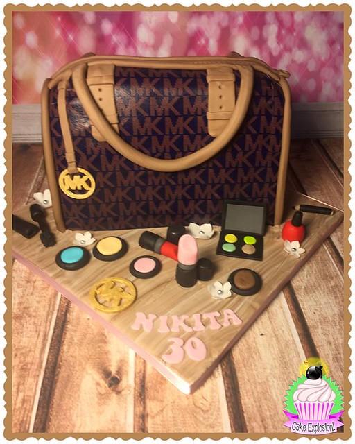 MK Handbag Cake by Cake Explosion