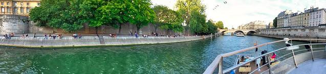 Sena and Saint-Michel Pont