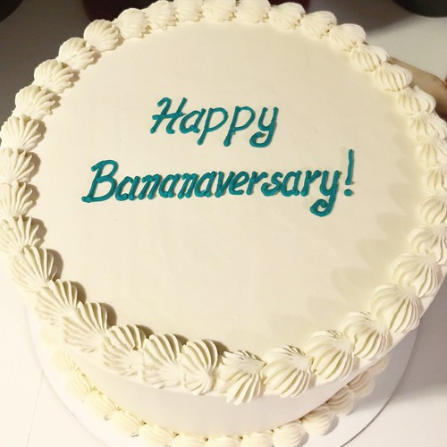 Happy bananaversary