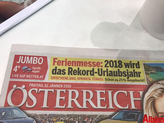Avusturya'nın yüksek tirajlı gazetesi Özterreich, tatil için yabancı ailelerin Türkiye'yi tercih ettiğini yazdı.-3
