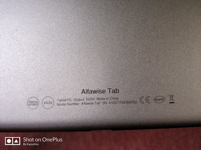 Alfawise Tab 開封レビュー (17)
