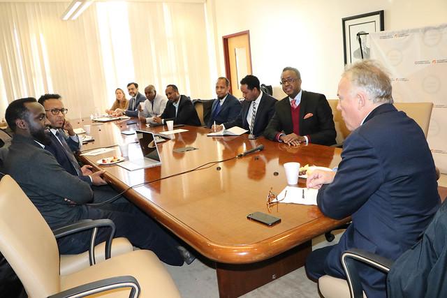 UN Special envoy to Somalia Meets Minnesota Diaspora Community