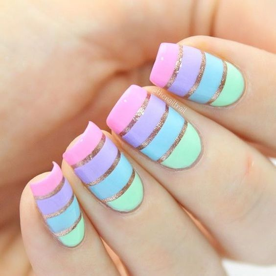 Images Of Easy Nail Designs: Easy Nail Art Designs And Ideas 2018-2019