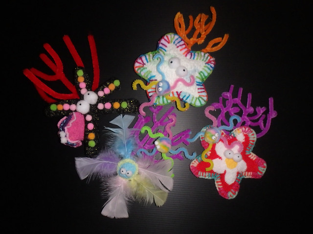 How to make plushie sea stars with sea fans