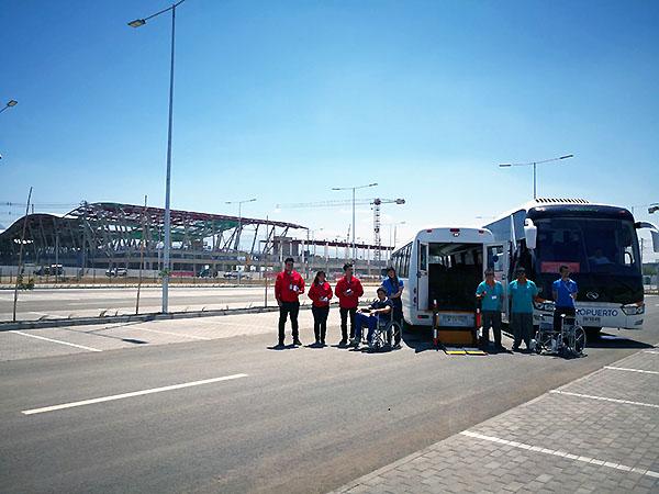 SCL estacionamiento Patagua (Nuevo Pudahuel)