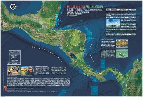 Los pueblos indígenas de Centroamérica juegan un papel fundamental a la conservación de los bosques y los cuerpos de agua de la región. Realizamos presentación del mapa de los pueblos indígenas en Centroamérica