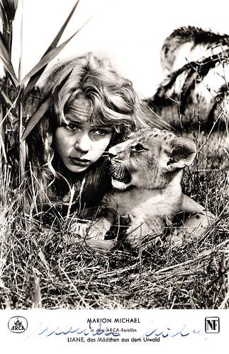 Marion Michael in Liane, das Mädchen aus dem Urwald (1956)