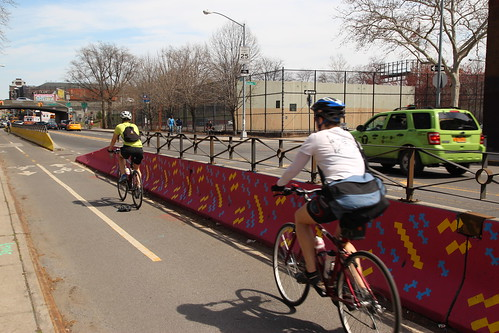 Alphabet City Barrier Beautification - Flushing Ave