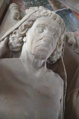 cadaver tomb: John Denston, 1460s