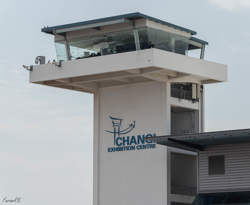 Singapore Airshow 2018 control tower