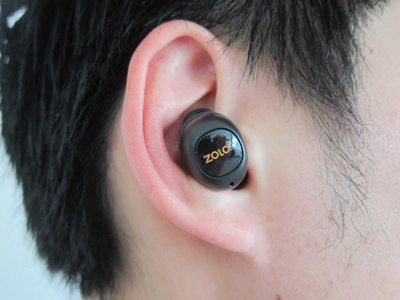 Liberty+ Wireless Earphones - Wearing