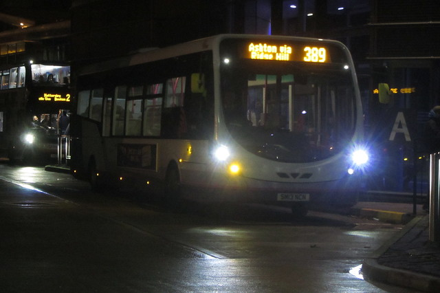 First Greater Manchester Wright StreetLite, SM13 NCN, Hyde bus station